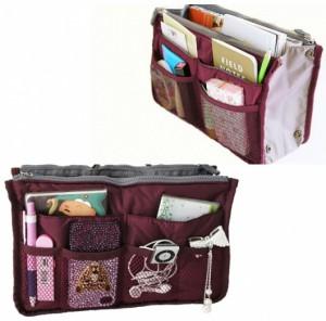 фото Большой органайзер для вещей Bag in Bag maxi, бордовый (100577) #2