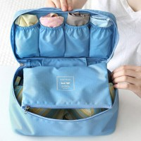 Подарок Органайзер для белья 'Monopoly Travel underwear pouch' голубой (103337)