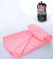 Полотенце для йоги Metr + MS 2750(Pink)