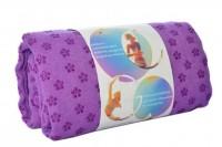 Полотенце для йоги Metr + MS 2750(Violet)