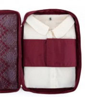 Подарок Органайзер для рубашек и блузок бордовый (108585)