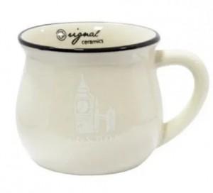 Подарок Чашка кувшин бежевая Zakka (108847)