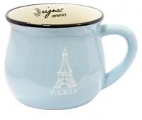 Подарок Чашка кувшин голубая Zakka (108845)