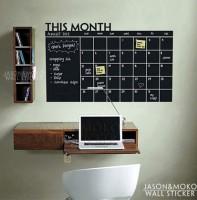 Подарок Грифельная наклейка ежедневник-календарь (103642)