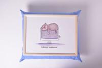 Подарок Поднос на подушке 'Хорошая работа' (111784)