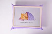 Подарок Поднос на подушке 'Ленивый кот' (111782)