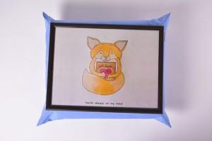 Подарок Поднос на подушке 'Лиса' (111783)