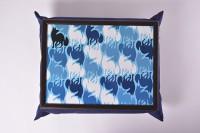 Подарок Поднос на подушке 'Синий лис' (111779)