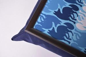 фото Поднос на подушке 'Синий лис' (111779) #2