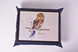 Подарок Поднос на подушке 'Сова' (111785)