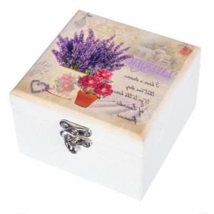 Подарок Деревянная шкатулка Lefard 'Сердце с птицей' (111530)