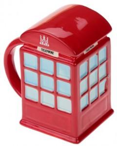 Подарок Кружка 'Красная телефонная будка' (111153)