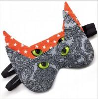 Подарок Маска для сна 'Кот серый зеленоглазый' (110609)
