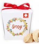 Подарок Печенье с предсказаниями Сладкая доза 'Sorry' (111270)