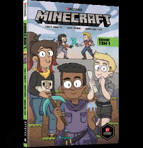 Книга Minecraft: Комікс. Том 1