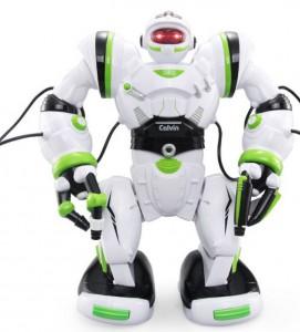 Робот р/у интерактивный Bambi 'Robowisdom' (28091) Бело-зелёный