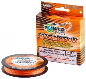 Шнур Power Pro Bite Motion 150m Orange/Black 0.06mm 3kg/6.5lb (22667866)
