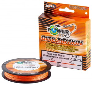Шнур Power Pro Bite Motion 150m Orange/Black 0.10mm 5kg/11lb (22667867)