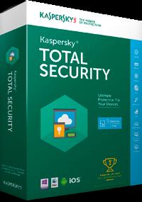 Программа Антивирус Kaspersky Total Security для всех устройств, лицензия на 5 устройств на 2 года (KL1949OCEDS)