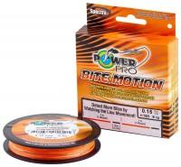 Шнур Power Pro Bite Motion 150m Orange/Black 0.13mm 8kg/18lb (22667868)