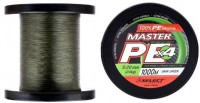 Шнур Select Master PE 1000m (темн.-зел.) 0.32мм 37кг (18701594)