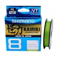 Шнур Shimano Kairiki 8 PE (Mantis Green) 300m 0.35mm 39.5kg (22669721)