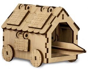 Дерев'яний 3D-конструктор Зірка 'Таран. Історичне знаряддя' (100729)