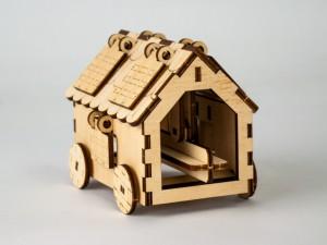 фото Дерев'яний 3D-конструктор Зірка 'Таран. Історичне знаряддя' (100729) #3