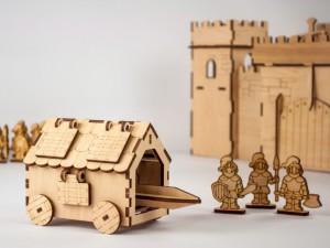 фото Дерев'яний 3D-конструктор Зірка 'Таран. Історичне знаряддя' (100729) #4