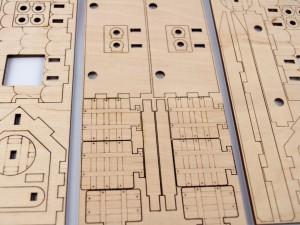 фото Дерев'яний 3D-конструктор Зірка 'Таран. Історичне знаряддя' (100729) #9