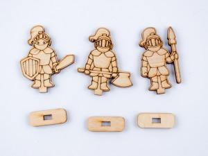 фото Дерев'яний 3D-конструктор Зірка 'Таран. Історичне знаряддя' (100729) #8