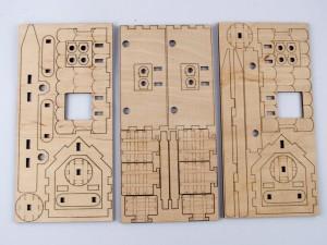 фото Дерев'яний 3D-конструктор Зірка 'Таран. Історичне знаряддя' (100729) #10