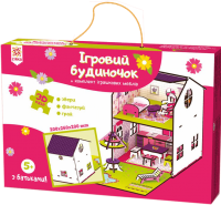 Конструктор Зірка 'Будиночок кольоровий ігровий' (2000001203361)