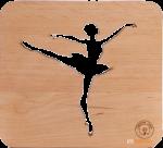 Подарок Настольная лампа-ночник Creative Light Dream Land 'Балерина' ольха (CL101053)
