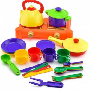 Набор посуды с газовой плитой Юника (71047)