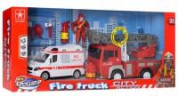Набор транспорта JLX Toys 'Спасатели' (9930A)