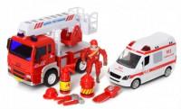 Набор транспорта JLX Toys 'Спасатели' (9930B)