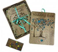 Подарочный  альбом для фотографий Primax-art  'Wedding book - История нашей любви ' (101123)