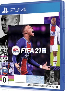 игра FIFA 21 PS4 - русская версия