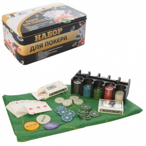 Настольная игра Metr+ 'Покер' (NP25712-2)