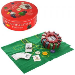 Настольная игра Metr+ 'Покер' (THS-154)