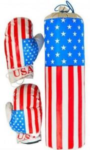 Детский боксерский набор Danko Toys 'Америка'  (0002DT)