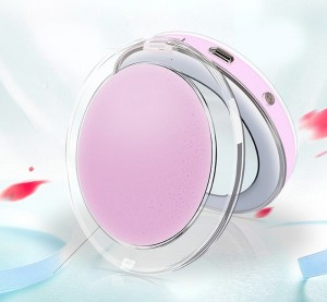 фото Карманное зеркало для макияжа с LED подсветкой G-SIO CM2 #4