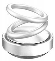Подарок Освежитель воздуха для авто UFT Левитирующие Кольца Aroma Silver (UFTaromaSilver)