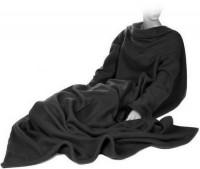 Подарок Плед с рукавами Черный 140x180 см Laus P1 (P1black)