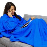 Подарок Плед с рукавами Синий 140x180 см Laus P1 (P1blue)