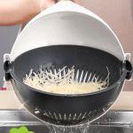 фото Универсальная овощерезка Masslinna Vegetable cutter VC2: с дуршлагом, терка, шинковка, измельчитель #4