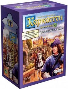 Настольная игра 'Каркассон: Граф, король и культ', расширение