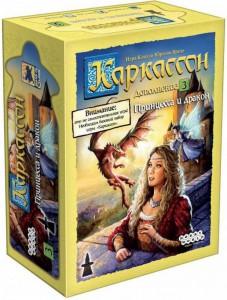Настольная игра 'Каркассон: Принцесса и дракон'