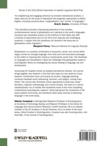 фото страниц The Handbook of Language and Globalization #2